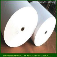 Cheap Wood Pulp Pulp Material and Chemical Pulp Pulping Type Couche Paper for Printing for sale