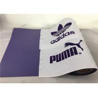 Cheap Purple Flock Heat Press Vinyl Rolls For Circuit And Silhouette , Bundle For T Shirts for sale