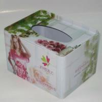 China Custom Virgin pulp, Mixed pulp, or Recycle pulp No chlorine or bleaching during Facial Tissue Box on sale