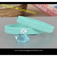 Cheap Customize new style Debossed/Embossed/printed silicone wristband/silicone bracelet for sale