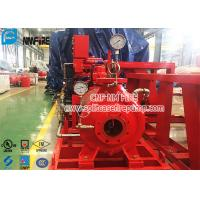 Cheap Single Stage End Suction Horizontal Fire Pump Set With Diesel Engine , UL / FM Listed for sale
