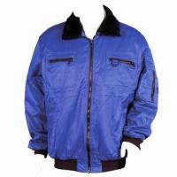 Cheap Work Jacket, Made of Nylon/Cotton for sale