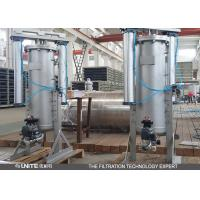 Buy cheap Blue Carbon steel self cleaning filter strainer for pulp and paper filtration from wholesalers