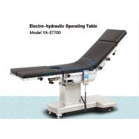 Cheap Electro Hydraulic Surgical Operating Table Suitable For C -Arm And X-Ray for sale