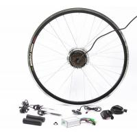China Cassette Wheel Sprocket Electric Bicycle Hub Conversion Kit For Safety Ride on sale
