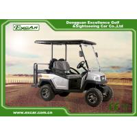 Buy cheap 4 Person Electric Hunting Carts With Curties Controller 48V 275A from wholesalers