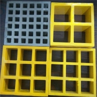China Chemical Resistant 38mm Fiberglass Walkway Grating on sale