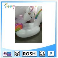 Cheap Funny Pvc Inflatable Water Park Unicorn Water Toy Pool Float for sale