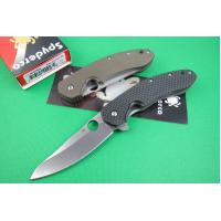 Cheap Spyderco knife CT.156 (black handle) for sale