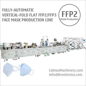 Cheap Fully-auto FFP2 FFP3 Respirator Making Machine Mask Production Line for sale