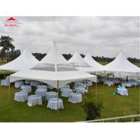 China Outdoor Flame Retardant Pagoda Party Tent For Commercial Activity on sale