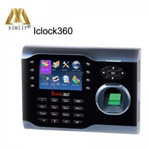 China Hot Sale 8000 Fingerprint Users Iclock360 Biometric Tcp/Ip Reader Time Clock Fingerprint Time Attendance on sale