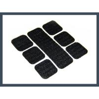 Cheap Square back glue punching hook and loop velcro for sale