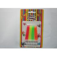 Cheap Customized Colorful Glitter Birthday Candles 2.44 Inch Height For Parties for sale
