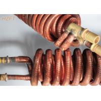 Cheap Cupronickel Integral Copper Tube Coil for Water Heater in Domestic Water Boilers wholesale