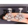 Buy cheap Bulgari Divas' Dream 4.2ct 206 Diamonds 18kt White Gold Earrings from wholesalers