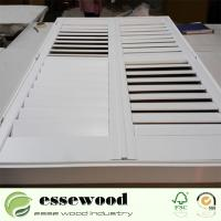Cheap Horizontal Opening Pattern Polycore or Basswood Customized Plantation Shutters for sale