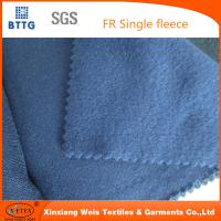 Buy cheap 16 CFR 1610 100% cotton durable flame retardant flannel FR fleece fabric   Flame from wholesalers