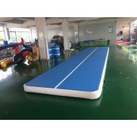Cheap Custom Size Inflatable Air Track 3m 4m 5m 6m 8m 10m Gym Mat Tumble Track Gymnastics Mat for sale