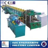 Cheap Lip Channel C Section Steel C Purlin Roll Forming Machine with Pre - punching for sale