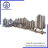 Cheap Complete Commercial Beer Making Equipment 500L - 5000L System Optional Vessel for sale