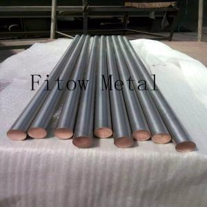 Cheap Titanium Clad Copper Bar, Tube and Wire  copper bar/ titanium anode/ ti clad copper GB/T12769 2 for sale