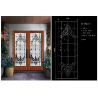 Buy cheap BEVELLED DESIGN  / BRIGHT/ Round Tempered Beveled Glass Theft Proof For Home School from wholesalers