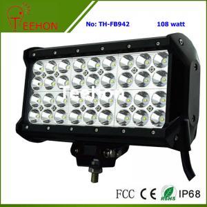 Cheap 108 Watt 9 Inch Quad-Row off-Road LED Light Bar for ATV and UTV for sale