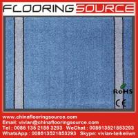 Cheap Cut Pile Carpet Entrance Floor Mat  polypropylene fibers pvc bakcing for sale