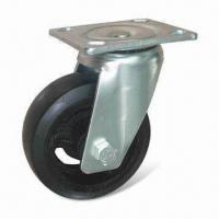 Cheap Caster/Rubber Molded Heavy-duty Caster, Various Colors and Sizes are Available for sale