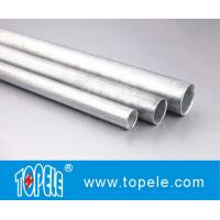 Cheap EMT Conduit And Fittings Carbon Steel Galvanised Tube , Electrical Metallic Tubing wholesale