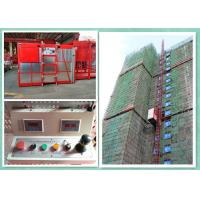 Cheap 37 Kw Personnel And Materials Hoist Construction Lift , Industrial Lifts Elevators for sale