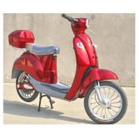 Cheap Hand Brake 350w Electric Moped Bike With Permanent Magnet Brushed DC Motor for sale