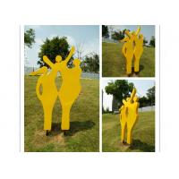 Cheap Happy Family Outdoor Stainless Steel Garden Sculptures Mother And Child Sculpture for sale
