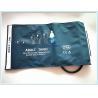 Single Hose Tube Medical Blood Pressure Cuff , 46 - 66cm Adult Bp Cuff for sale