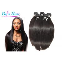 Cheap Luxury Straight Pure Malaysian Virgin Hair / Human Hair Weave For Black Women for sale