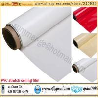 China 0.18mm indoor decoration material PVC stretch ceiling film on sale
