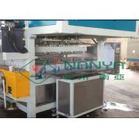 Cheap Recycling Paper Double Roller Egg Carton / Egg Tray Pulp Moulded Machine 1 Year Warranty for sale