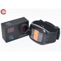 Quality CE / ROHS Remote Control Sports Camera , Waterproof Mini Sport Camcorders wholesale
