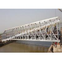 China Multi-span Single Lane Steel Box Girder Bailey Bridges Structural Formwork Truss Construction on sale