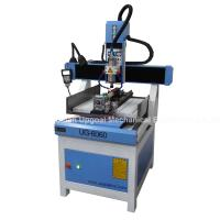 Cheap 3D CNC Metal Engraving Machine 4 Axis with DSP A18 Control UG-6060 for sale