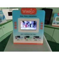 Quality 7 Inch Calender / Clock UV Printed POS Advertising Display With Video Auto Play wholesale