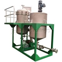 Cheap Compact Size Low Capacity Vertical Metal Leaf Filter Machine With Tank for sale