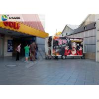 Cheap Mobile 7D Movie Theater For Trailer Convenient In Shopping Mall Gate for sale