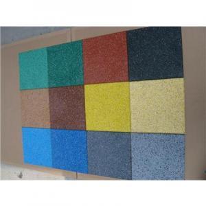 Cheap 500*500*15mm EPDM  Rubber Tiles for sale