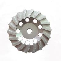 Cheap Double Turbo Metal Bonded Diamond Grinding Wheel For Concrete Surface Grinding for sale