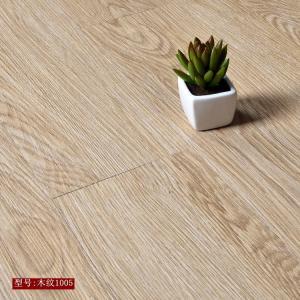 Cheap High strength high flexibility wood grain uv coating embossed PVC vinyl flooring planks for sale
