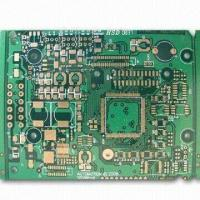 Cheap 8-layered PCB with ENIG finishing for arm processors, FR4/4-mil trace and space/military area for sale