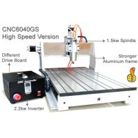 China High Speed Version 6040 3 Axis Desktop CNC Router Machine 1.5KW Spindle 2.2KW Invert on sale
