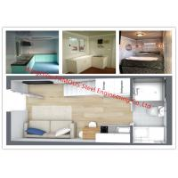 Cheap Luxury Decoration Prefab Modular House Building With Bathroom / Kitchen / Washbasin / Bedroom for sale